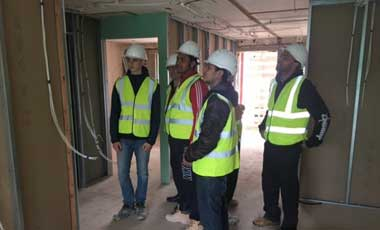 Pacy and Wheatley Amersham student site visits