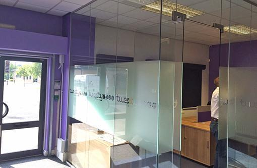 24/7 IT Services Entrance and Office