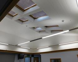 Bessacarr Medical Centre ceiling