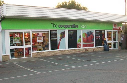 The Co-op Exterior East Sussex