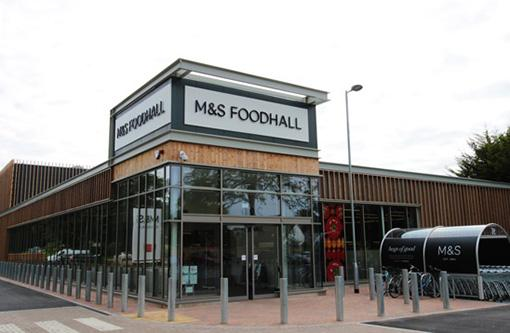 M&S External Entrance
