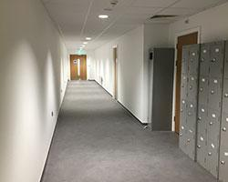 Interior Fit Out Project in Gloucester corridor