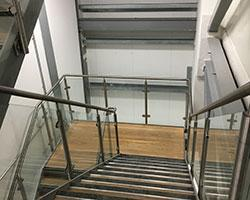 Interior Fit Out Project in Gloucester stairs