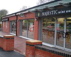 Pacy and Wheatley Retail Leisure Fit Out | Majestic Wine in Wakefield | Rear Exterior