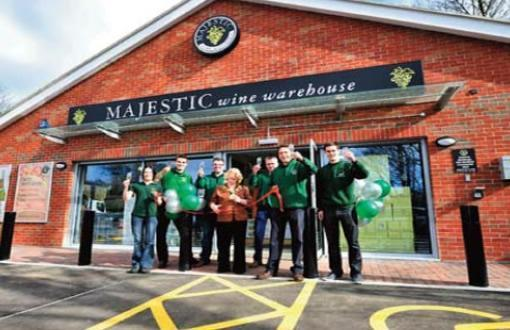 Pacy and Wheatley Retail Leisure Fit Out | Majestic Wine in Wakefield | Exterior