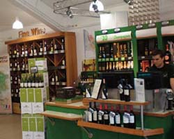 Pacy and Wheatley Retail Leisure Fit Out | Majestic Wine in Wakefield | Checkout
